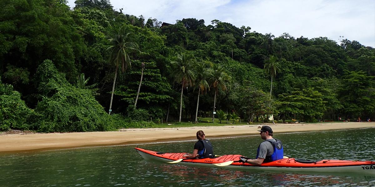 Paraty Bay - Rosa Beach